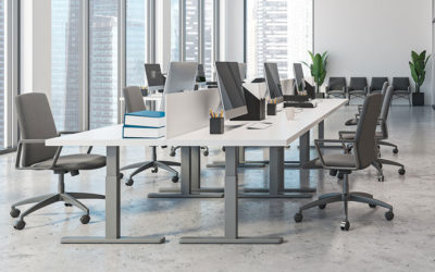 How Hybrid Work is Impacting Businesses: Hot Desking and its Effect on Employee Health and Productivity